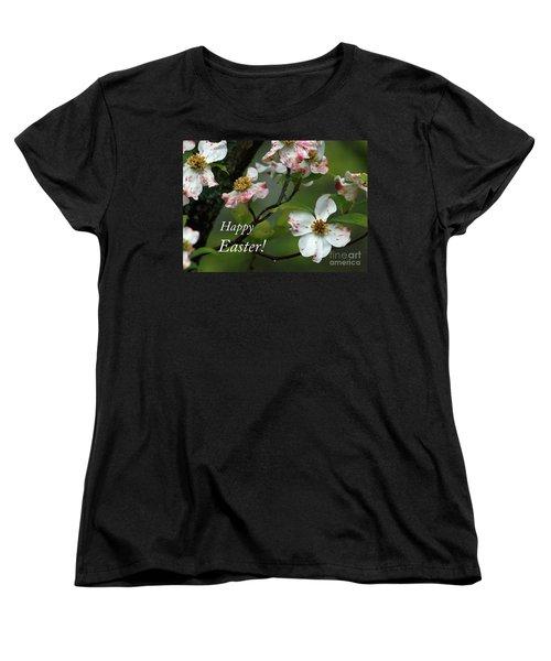 Easter Dogwood Women's T-Shirt (Standard Cut) by Douglas Stucky