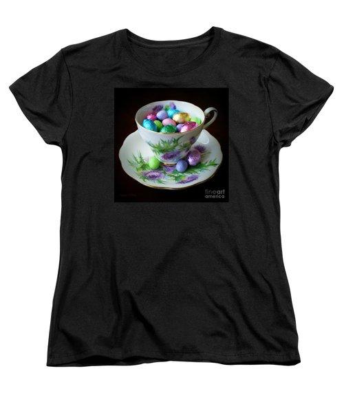 Easter Teacup Women's T-Shirt (Standard Cut) by Robert ONeil