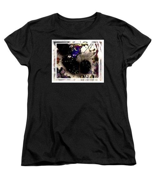 Ebony Nights Women's T-Shirt (Standard Cut) by Angela L Walker