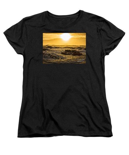 Edge Of The World Women's T-Shirt (Standard Cut) by Billie-Jo Miller