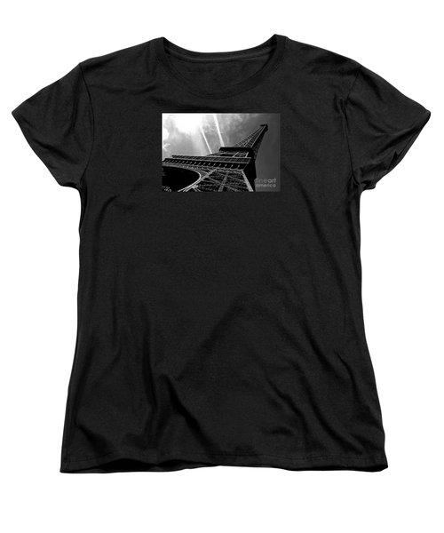 Eiffel Tower Women's T-Shirt (Standard Cut) by M G Whittingham