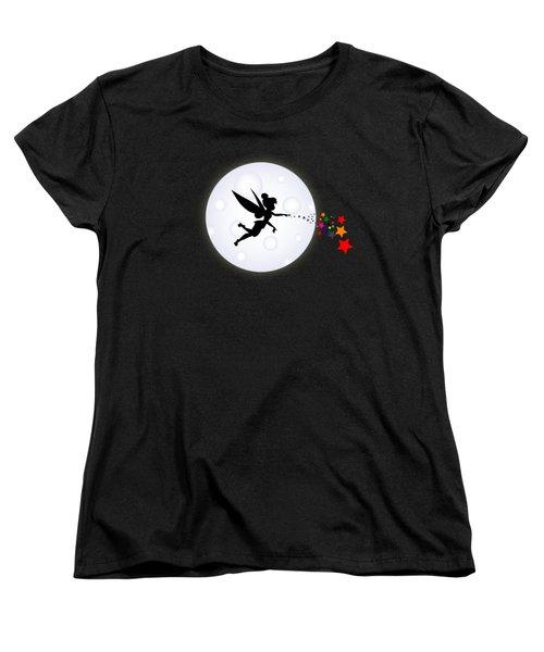 Elf Starry Night Women's T-Shirt (Standard Cut) by Koko Priyanto