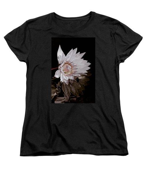 Elizabeth's Lily Women's T-Shirt (Standard Cut) by Trish Tritz
