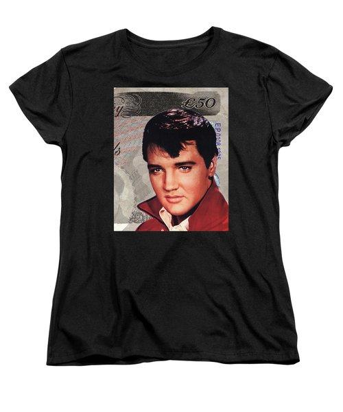 Elvis Presley Women's T-Shirt (Standard Cut) by Unknown