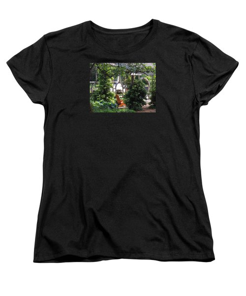Women's T-Shirt (Standard Cut) featuring the photograph Embrace Spring by Teresa Schomig