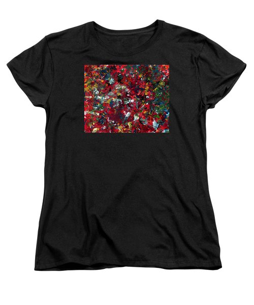 Enamel 1 Women's T-Shirt (Standard Cut) by James W Johnson