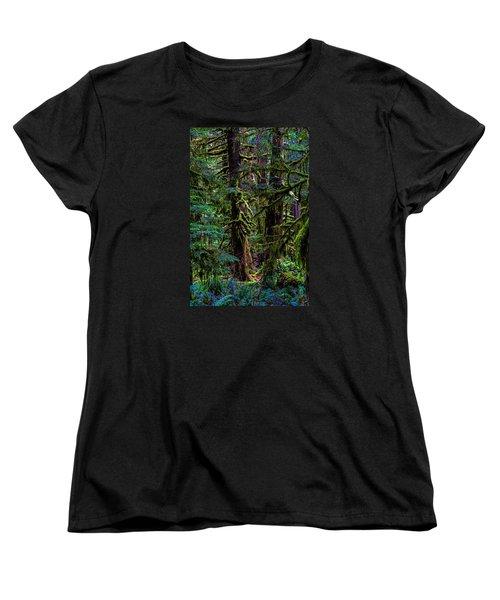 Enchanted Women's T-Shirt (Standard Cut) by Alana Thrower