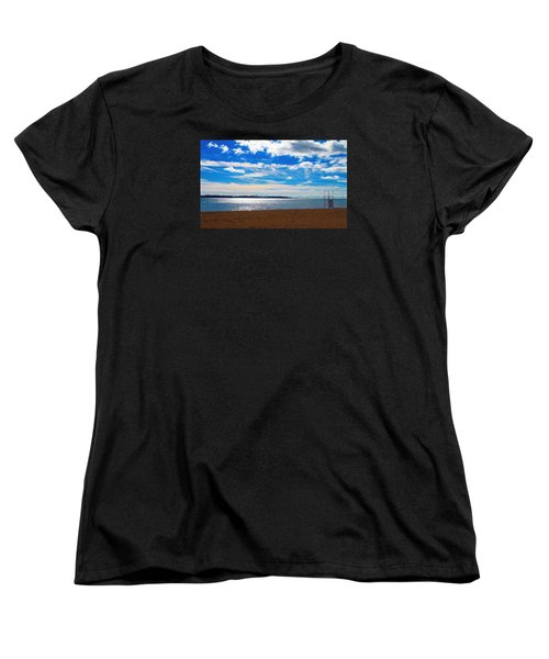 Women's T-Shirt (Standard Cut) featuring the photograph Endless Sky by Valentino Visentini