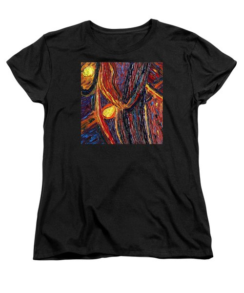 Energy Of Two Women's T-Shirt (Standard Cut) by Vadim Levin