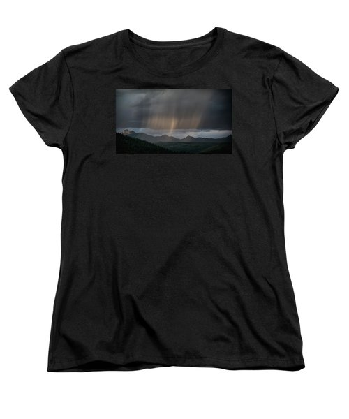 Enlightened Shafts Women's T-Shirt (Standard Cut) by Jason Coward