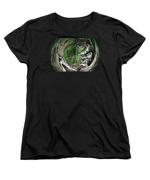 Enter The Root Cellar Women's T-Shirt (Standard Cut) by Gary Smith