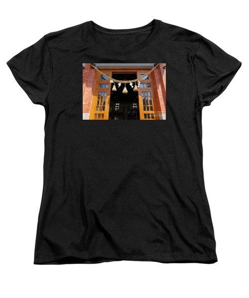 Entrance To The Wu De Martial Arts Hall Women's T-Shirt (Standard Cut) by Yali Shi