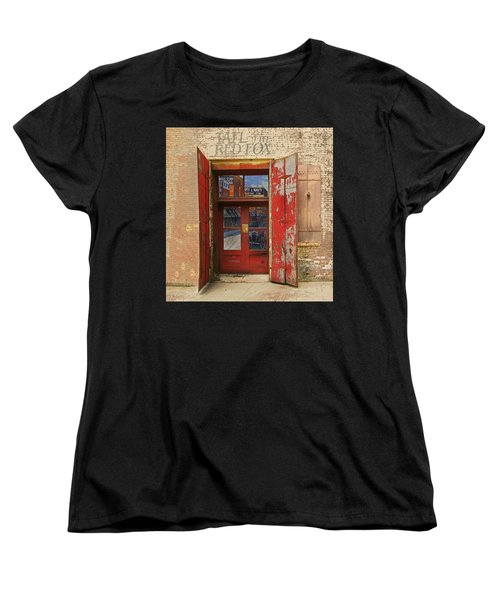 Women's T-Shirt (Standard Cut) featuring the photograph Entry Into The Past by Jeff Burgess