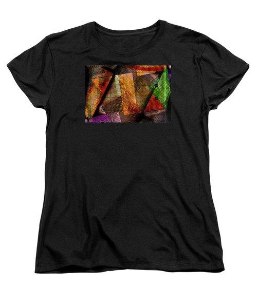 Equitable Distribution Women's T-Shirt (Standard Cut) by Don Gradner