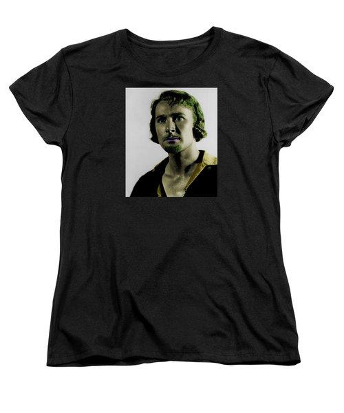 Errol Flynn In Color Women's T-Shirt (Standard Cut) by Emme Pons