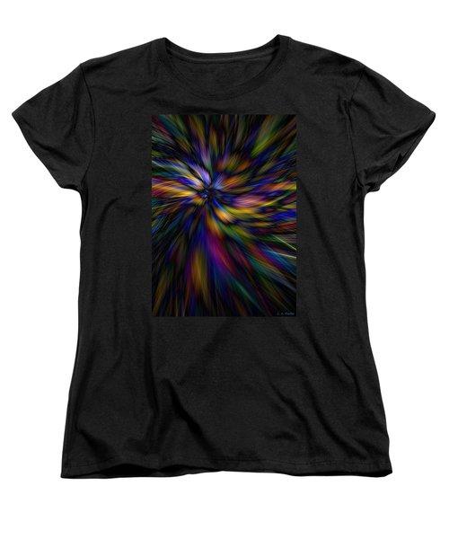 Essence Women's T-Shirt (Standard Cut) by Lauren Radke