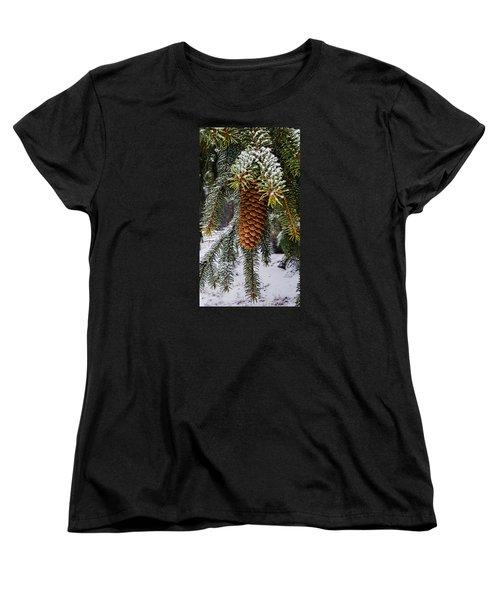 Essence Of Winter  Women's T-Shirt (Standard Cut)