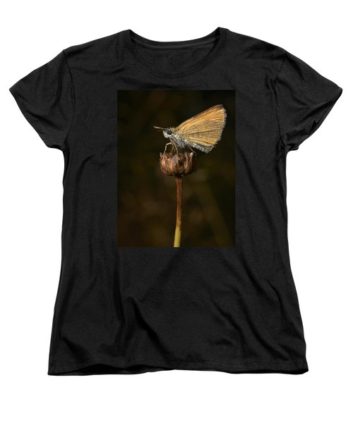 Women's T-Shirt (Standard Cut) featuring the photograph European Skipper by Jouko Lehto