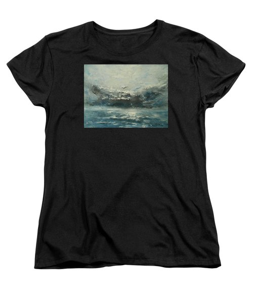 Even If The Skies Get Rough Women's T-Shirt (Standard Cut) by Jane See