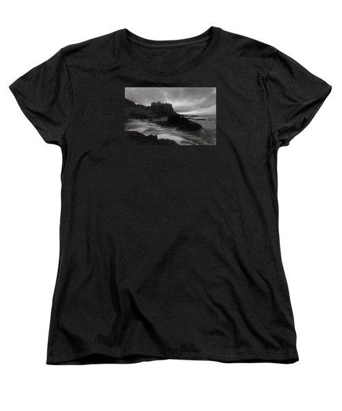 Evening At Dunluce Women's T-Shirt (Standard Cut) by Roy  McPeak