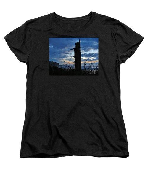 Evening Silohuettes Women's T-Shirt (Standard Cut) by Michele Penner