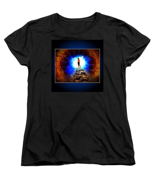 Every Man's Life Is A Fairy Tale Women's T-Shirt (Standard Cut) by Nick Heap