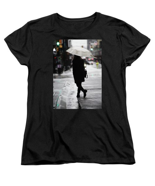 Women's T-Shirt (Standard Cut) featuring the photograph Every One Pays  by Empty Wall