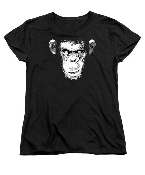 Evil Monkey Women's T-Shirt (Standard Cut)