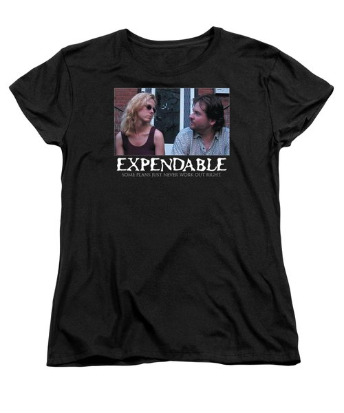 Expendable 2 - Black Women's T-Shirt (Standard Cut) by Mark Baranowski