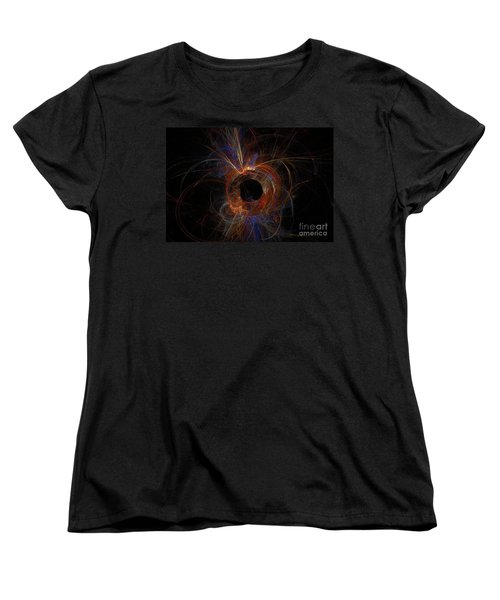 Experiment 9 Women's T-Shirt (Standard Cut) by Geraldine DeBoer