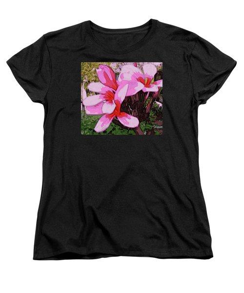 Exuberance Women's T-Shirt (Standard Cut) by Winsome Gunning