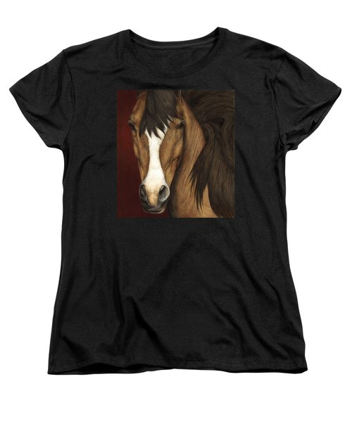 Eye Contact Women's T-Shirt (Standard Cut) by Pat Erickson