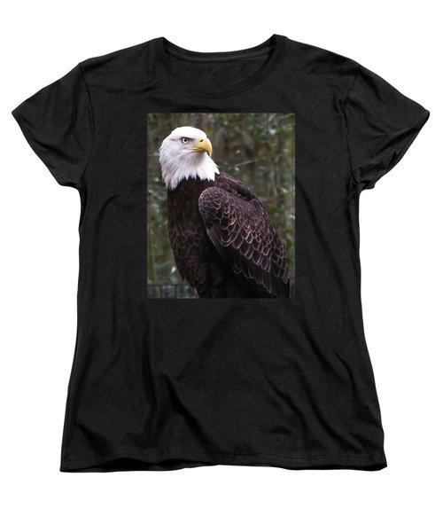 Eye Of The Eagle Women's T-Shirt (Standard Cut) by Trish Tritz
