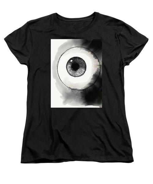 Eyeball Women's T-Shirt (Standard Cut) by Antonio Romero