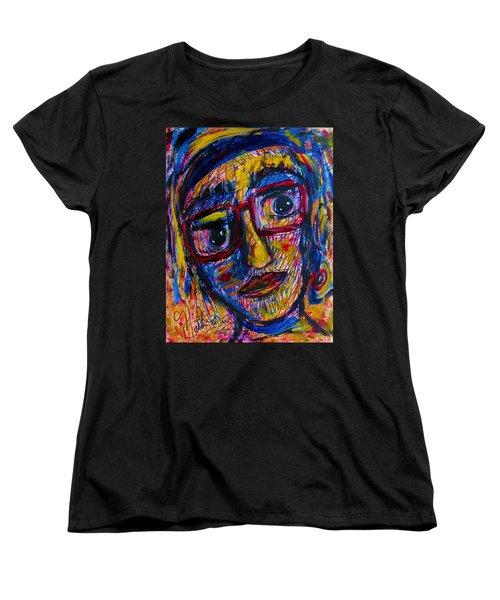 Face 11 Women's T-Shirt (Standard Cut) by Natalie Holland