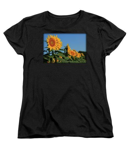 Women's T-Shirt (Standard Cut) featuring the photograph Facing East by Chris Berry