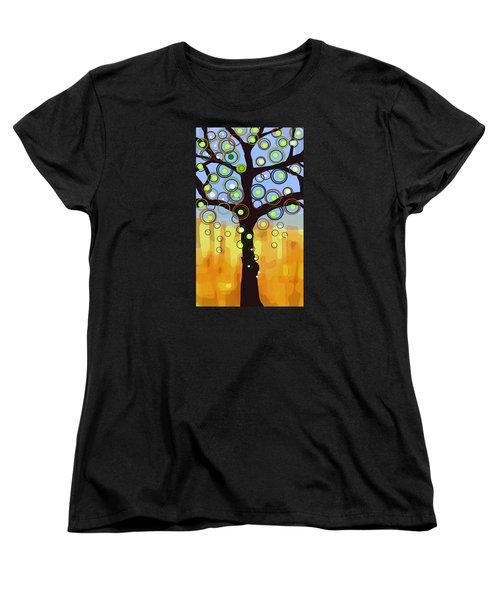 Fall Circles Women's T-Shirt (Standard Cut)