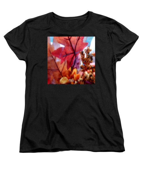 Fall Colors # 6059 Women's T-Shirt (Standard Cut) by Barbara Tristan