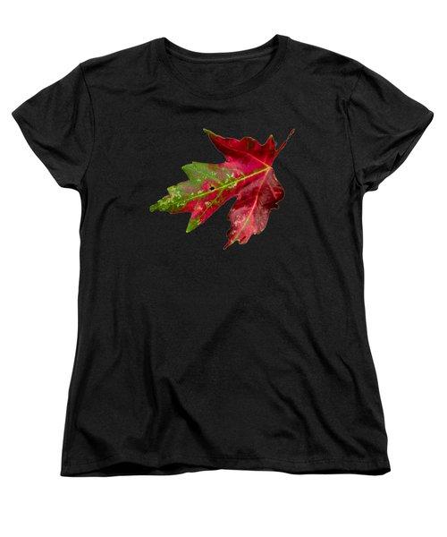 Fall Leaf Women's T-Shirt (Standard Cut)