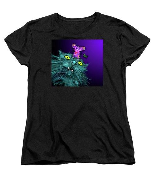 Fang And Meep  Women's T-Shirt (Standard Cut) by DC Langer