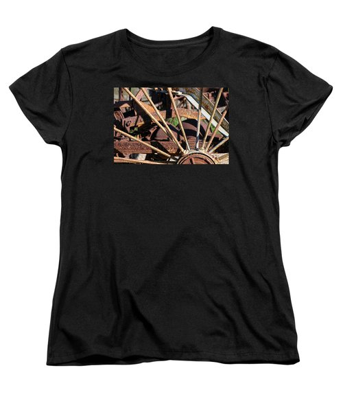 Women's T-Shirt (Standard Cut) featuring the photograph Farm Equipment 5 by Ely Arsha