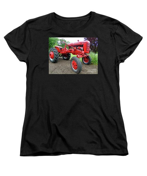 Farmall Women's T-Shirt (Standard Cut) by Susan Lafleur