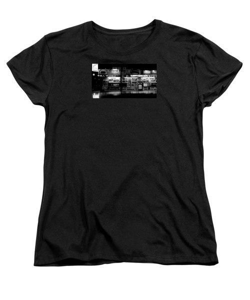 Fast Food Women's T-Shirt (Standard Cut) by David Gilbert