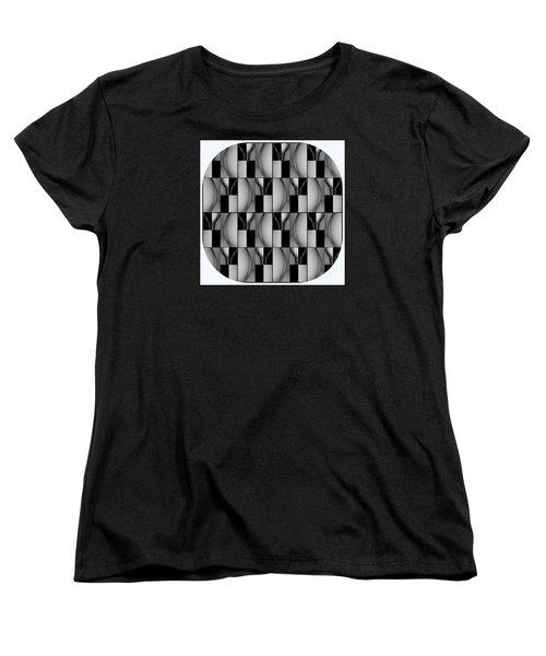 Female Abstraction Image Three Women's T-Shirt (Standard Cut) by Jack Dillhunt