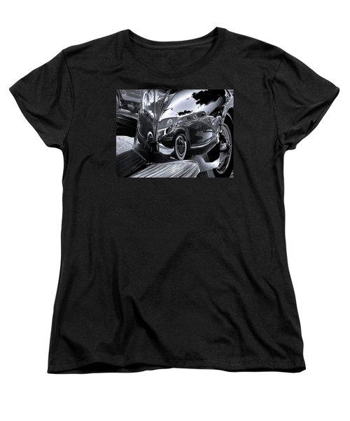 Fender Bender Women's T-Shirt (Standard Cut) by Sue Stefanowicz