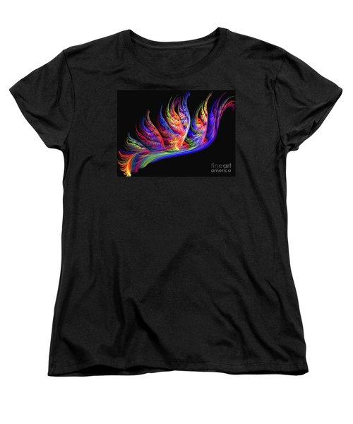 Fenghuang Women's T-Shirt (Standard Cut) by Kim Sy Ok