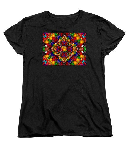 Women's T-Shirt (Standard Cut) featuring the digital art Festivities by Robert Orinski