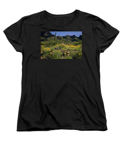 Fields Of Glory Women's T-Shirt (Standard Cut) by Lucinda Walter
