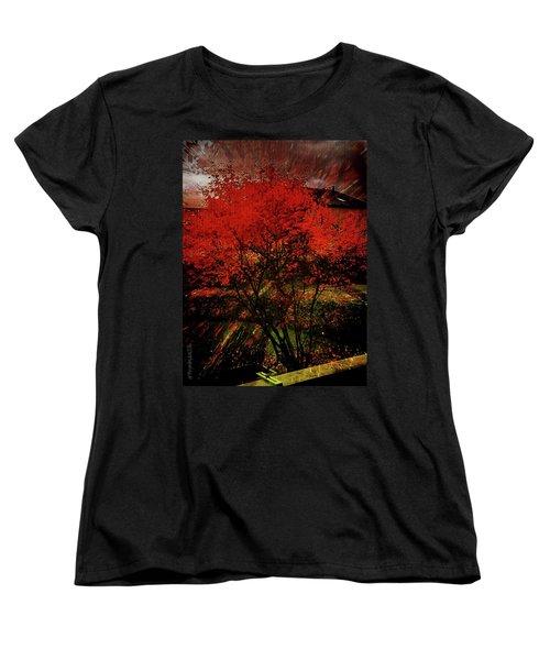 Fiery Dance Women's T-Shirt (Standard Cut)