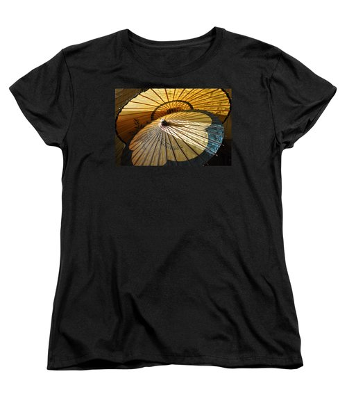Women's T-Shirt (Standard Cut) featuring the photograph Filtered Light by Jan Amiss Photography